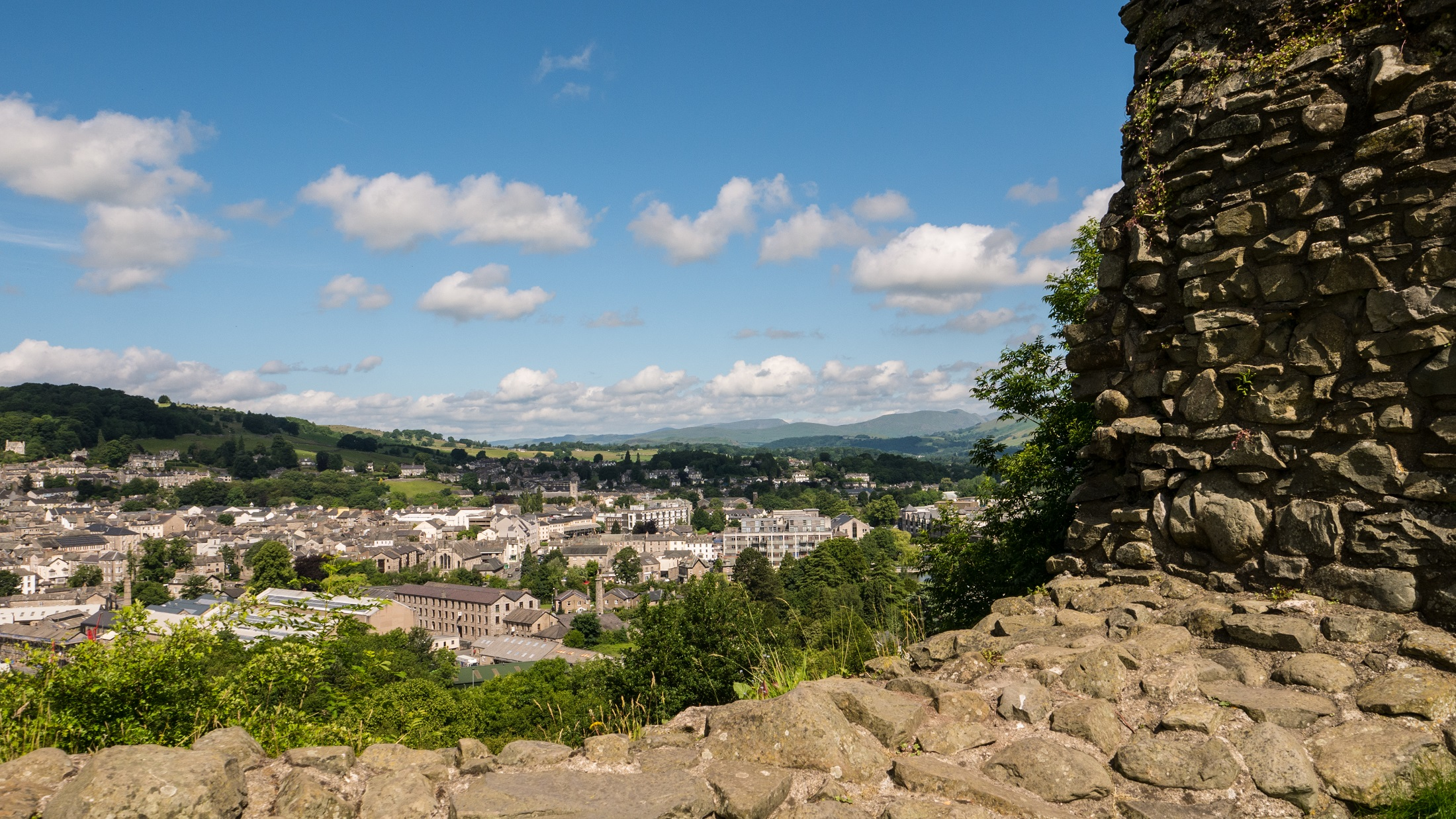 Kendal Castle View