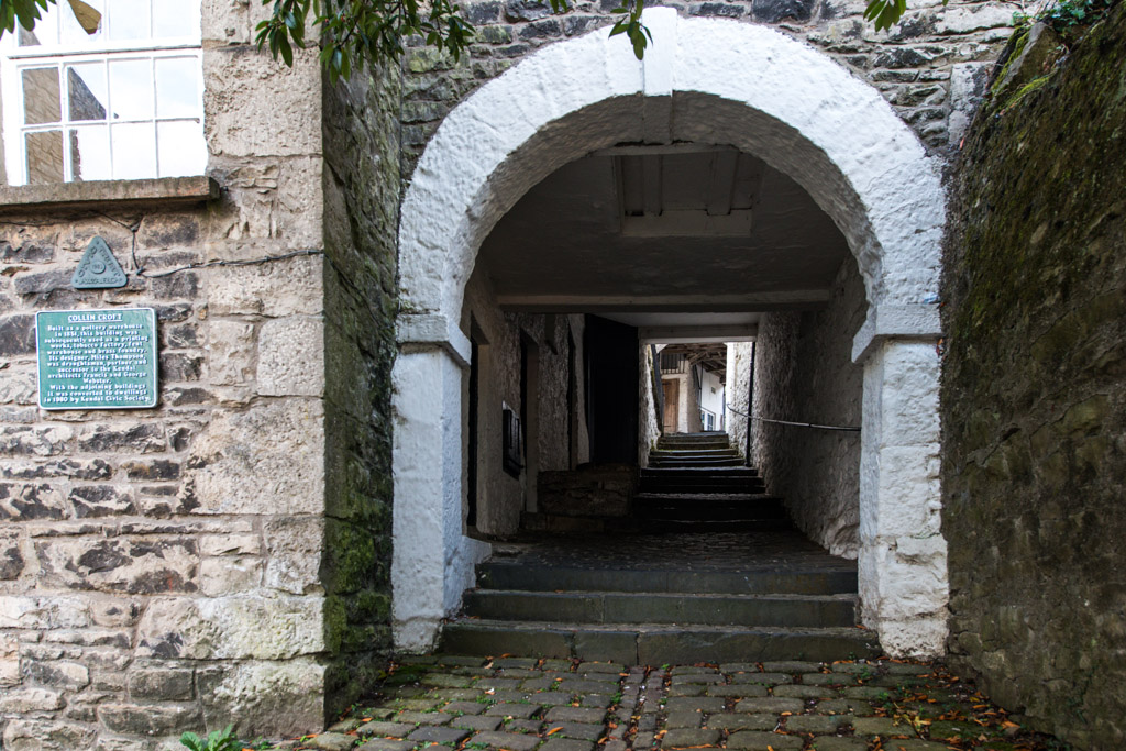 Kendal's famous yards - Collin Croft is one of Kendal's famous 18th century historic yards