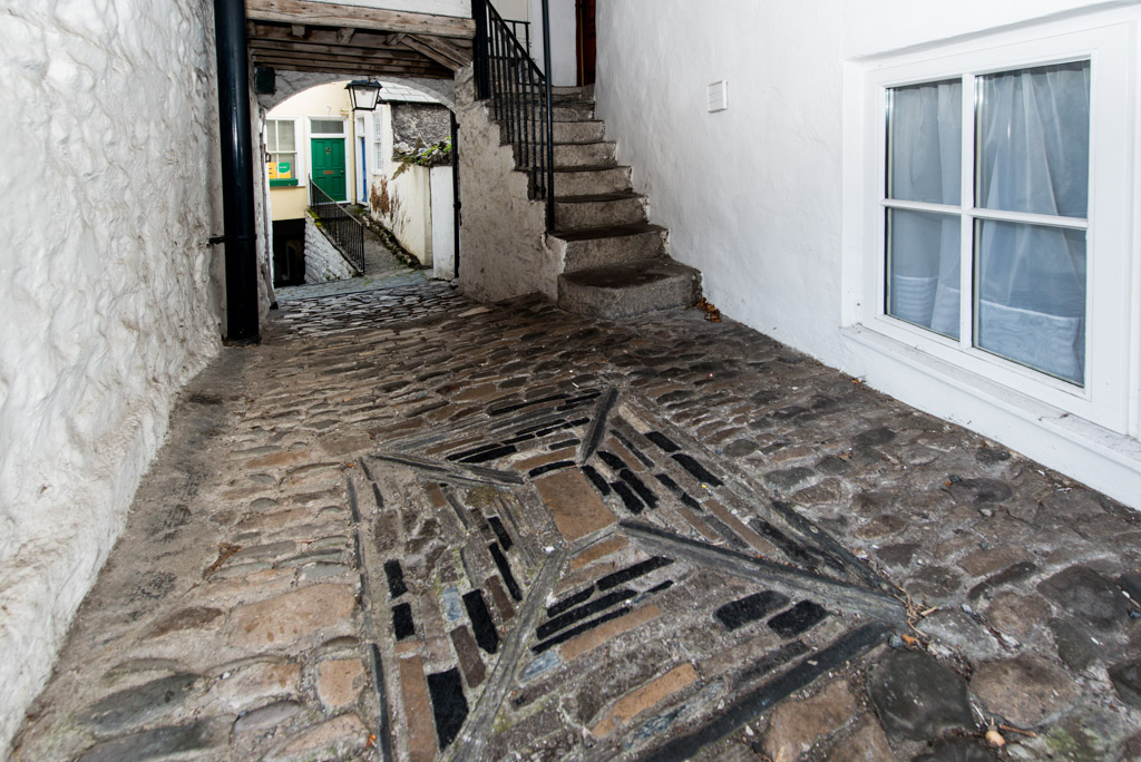 Kendal's famous yards - Collin Croft is one of Kendal's famous 18th century yards.