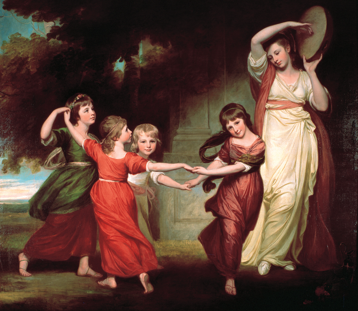 Abbot Hall Art Gallery's collection includes 18th century paintings by George Romney and another local artist Daniel Gardner