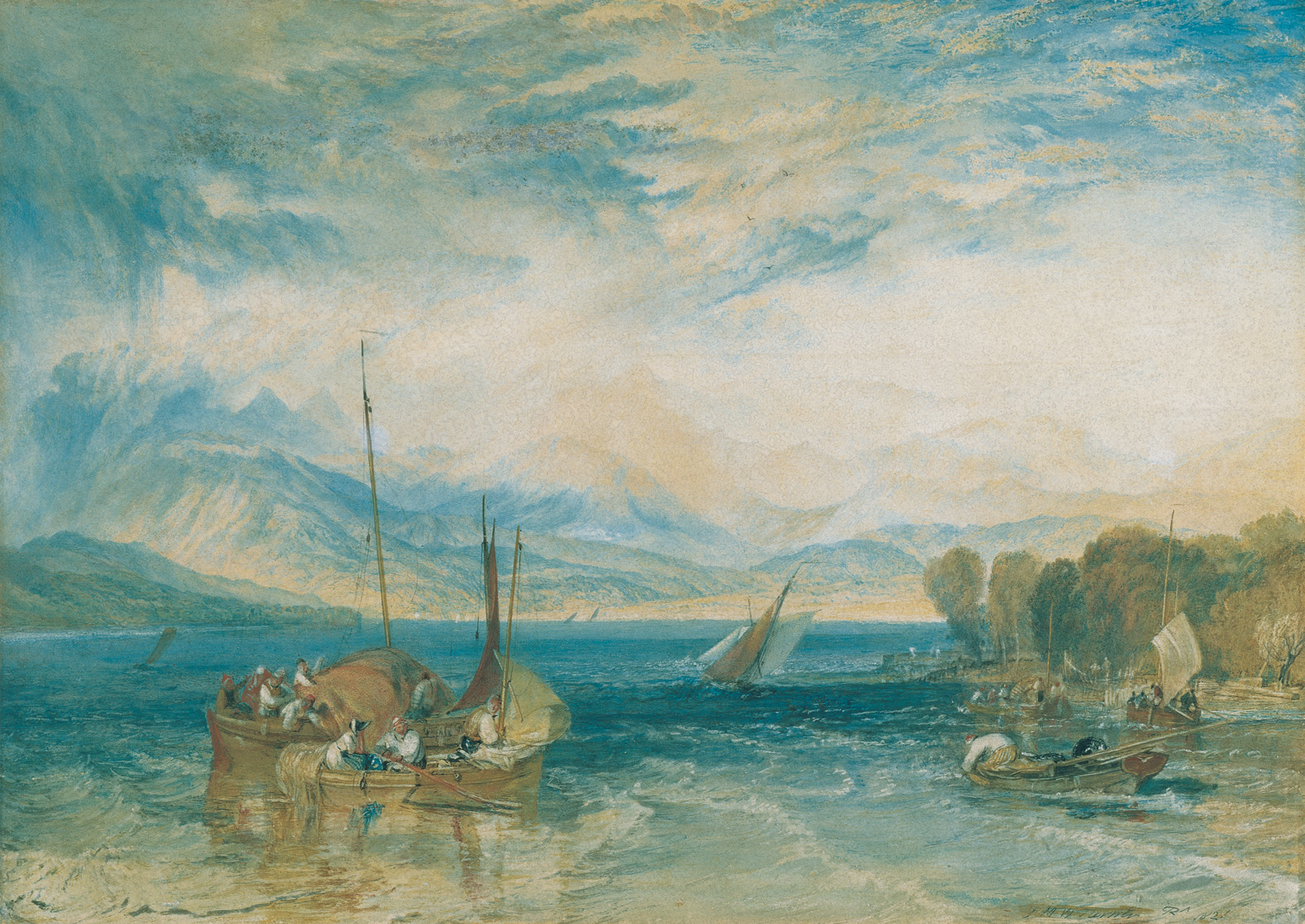 Abbot Hall Art Gallery hosts magnificent early watercolours by JMW Turner