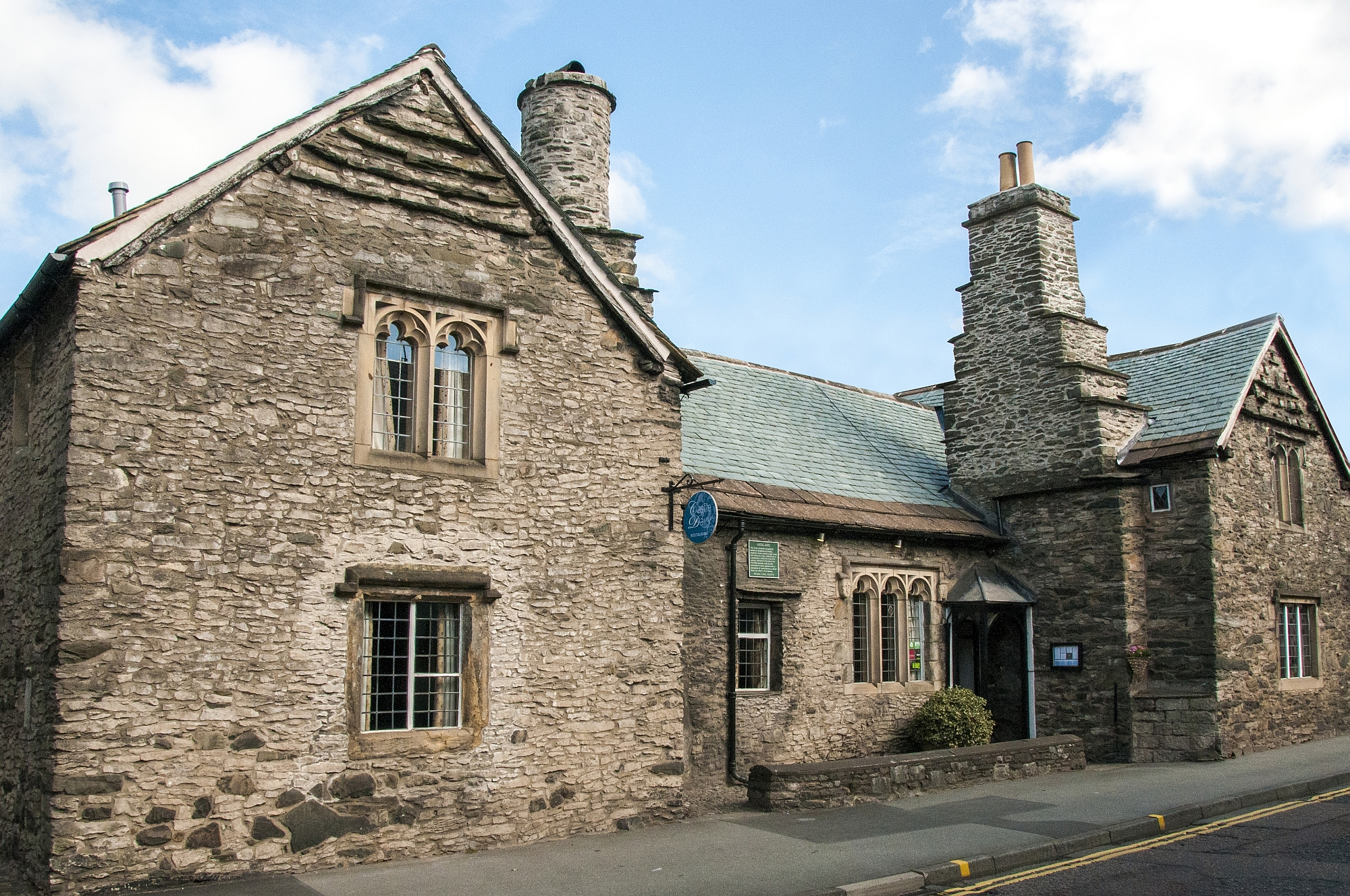 Restaurants | Castle Dairy Restaurant and Art Gallery offers a unique dining experience by 3AA rosette chef Chris O'Callaghan and his Kendal College apprentices in a historic building dating back to the 14th century