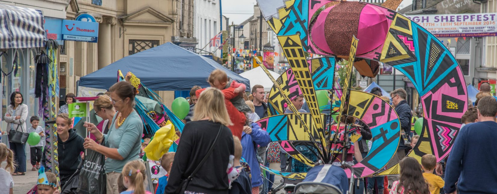 Kendal Torchlight Carnival is one of Kendal's annual events and festivals