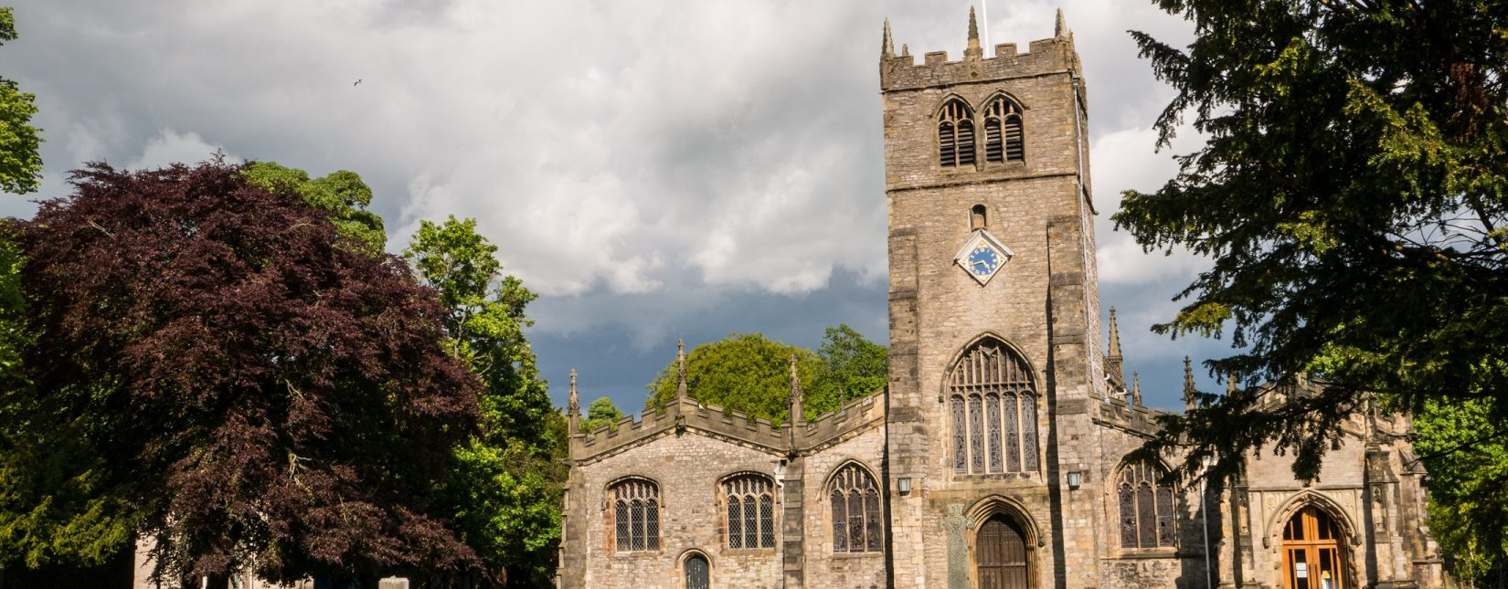 Kendal Parish Church dates from the early 13th century