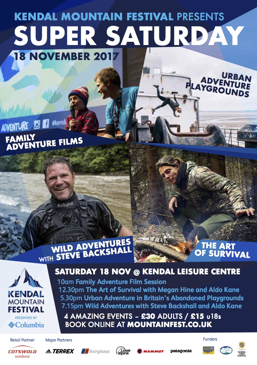 Super Family Saturday at Kendal Mountain Festival - Kendal Town