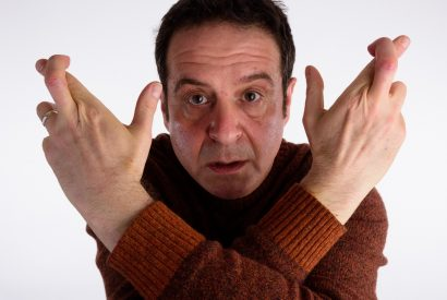 Mark Thomas, comedian