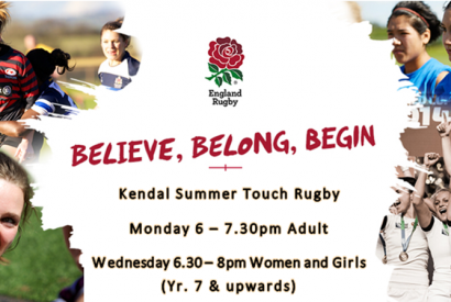 Kendal touch rugby 2018