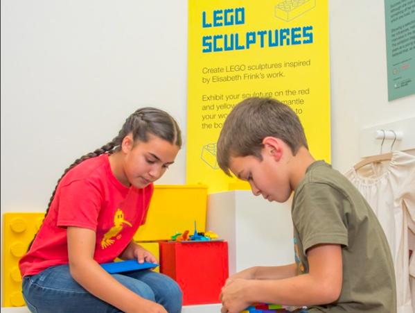 Lego Sculptors