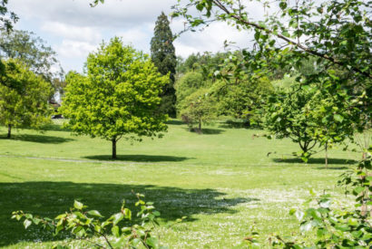 green spaces spring
