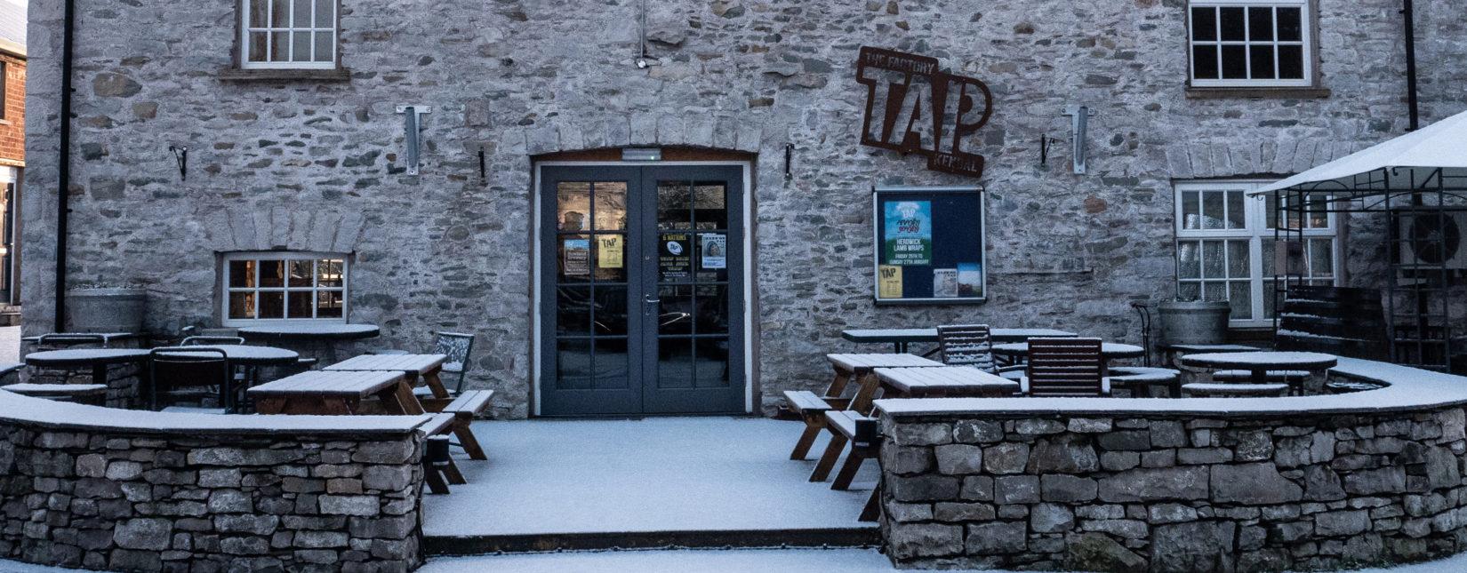 Tap Pub Banner