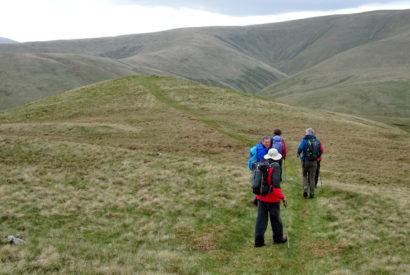 Howgills walking