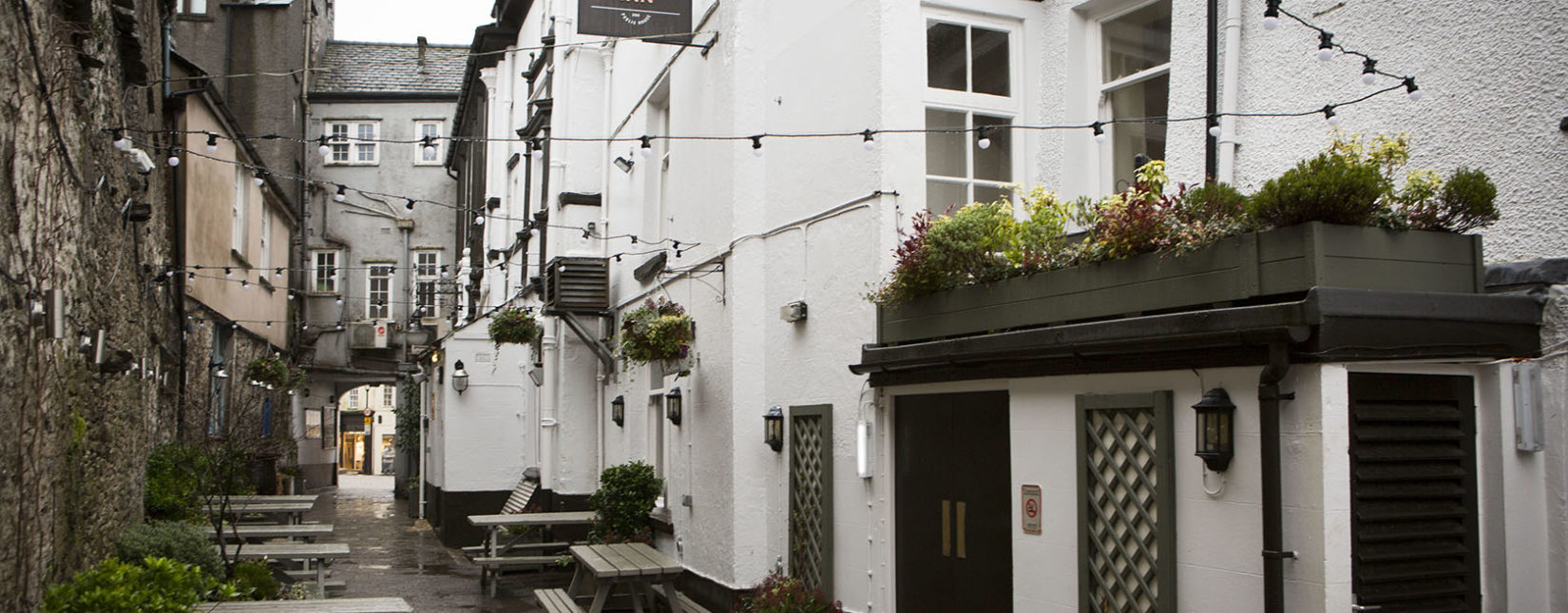 Beer gardens and outside dining