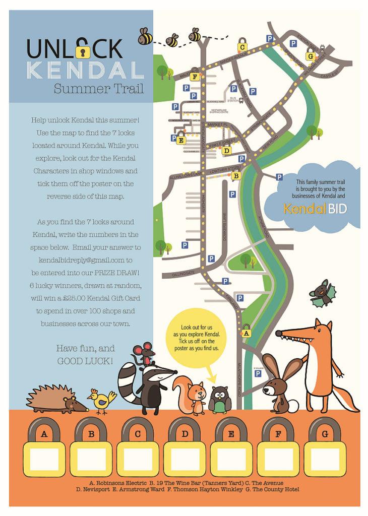 Kendal Summer Trails Leaflet
